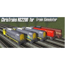NS serie 2200 Diesel Loc voor Train Simulator