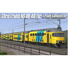 NS DD-AR Passenger Train for Train Simulator