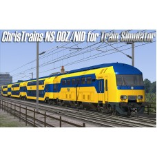 NS DDZ/NID Passengers Train for Train Simulator