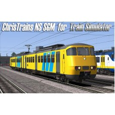 NS SGM Passagiere Zug für Train Simulator